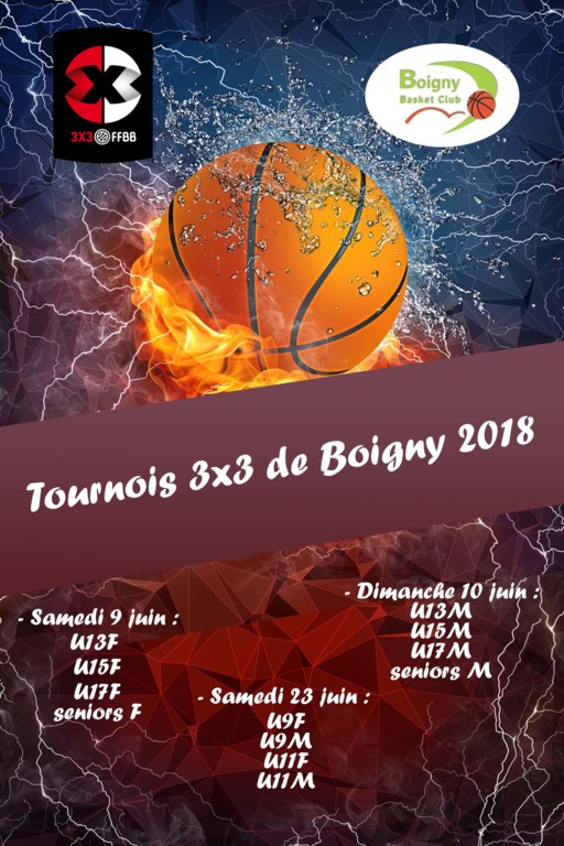 Tournois 2018 - Place au 3x3 !